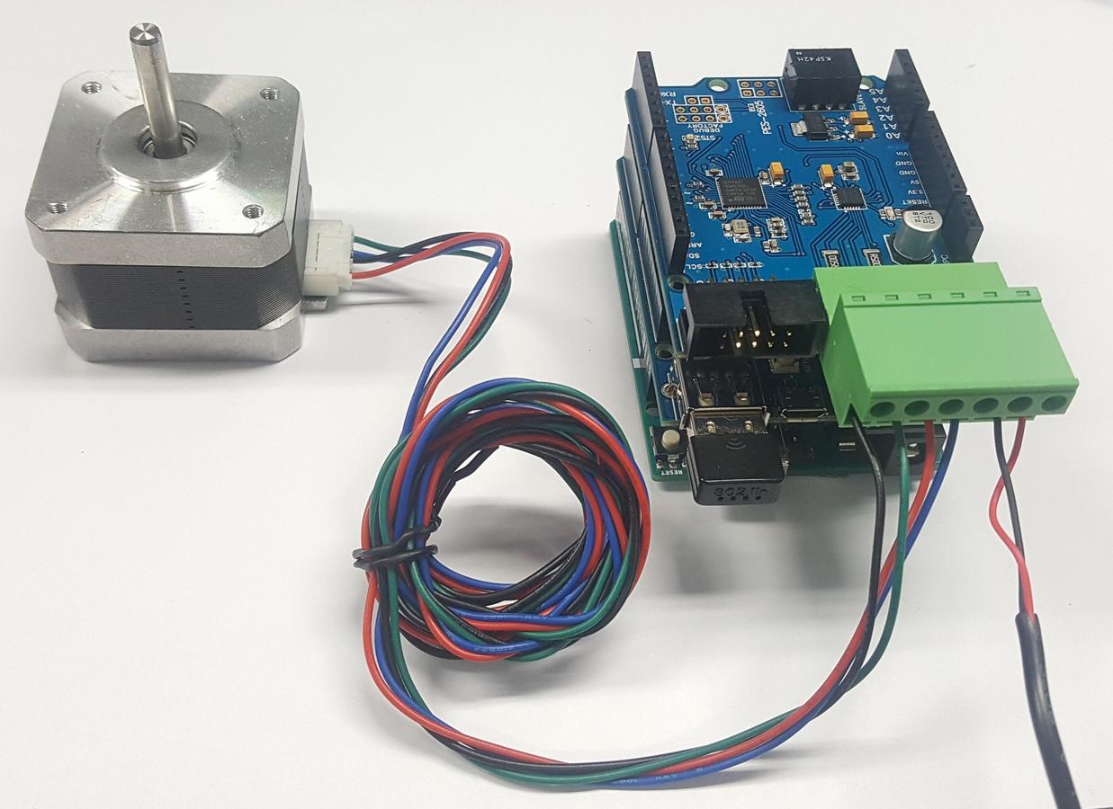 Arduino - Stepper Motor Controller - PHPoC Forum