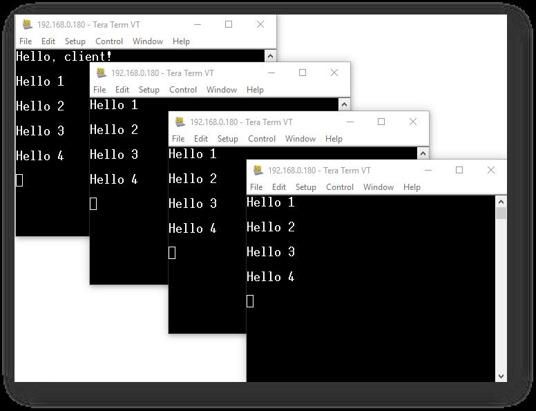 Arduino - Telnet Server - PHPoC Forum