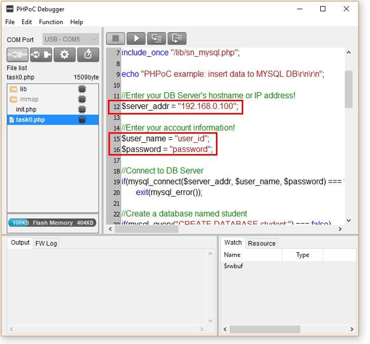 Mysql Inserting Data To Remote Server Phpoc Forum